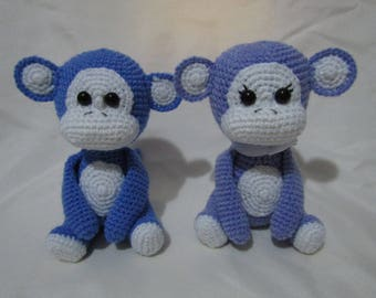 Amigurumi Little Monkey - Bundle