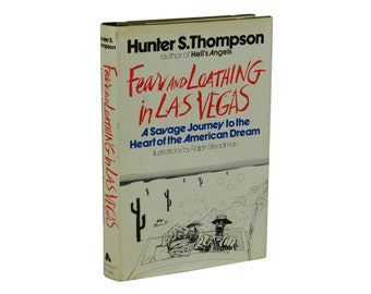 Fear and Loathing in Las Vegas HUNTER S. THOMPSON ~ First Edition 1971 1st Print