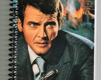 VHS Notebook, Recycled, Spy Who Loved Me, James Bond, 007, VHS Upcycled Notebook,