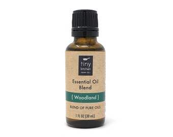 Woodland Essential Oil Blend (30 mL / 1 oz) | All Natural Synergy of 100% Pure, Undiluted Essential Oils