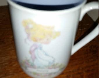 Precious Moments Personalized Name Mug Mary, Vintage Coffee Mug Tea Mug 1980s Never used