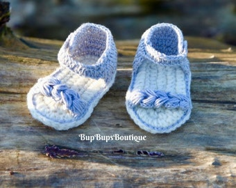 Handmade Baby Sandals - Baby Girl Shoes - Sandals - Sliver Sandals - Slippers -Baby Shower - Baby Gift - Tan - Baby Booties - -Flip Flops