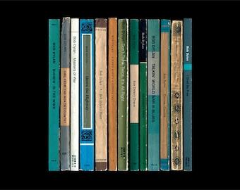 The Freewheelin' Bob Dylan Poster Print - Album As If Written as Penguin Books - Literary Music Art Print