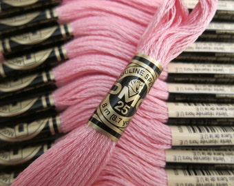 3716, Very Light Dusty Rose, DMC Cotton Embroidery Floss - 8m Skeins - Full (12-skein) Boxes - Get Up To 50% OFF, see Description