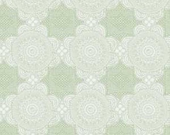 Doily Green from Gembrook range by Ella Blue x 25cm