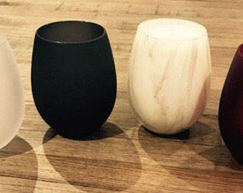 Stemless Renee Soy Wax Candles | Home Decor | Soy Wax Candle | Gift | Birthday | Mothers Day | Wedding |