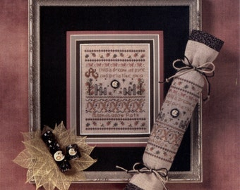 Full Circle Designs: A Child's Dream (OOP) - a Moonshadow Mini Cross Stitch Pattern with Embellishment