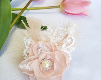 Bridal Hair Piece -  CLARA