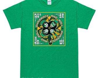 Kiss Me Im Irish St Patricks Day T-Shirt