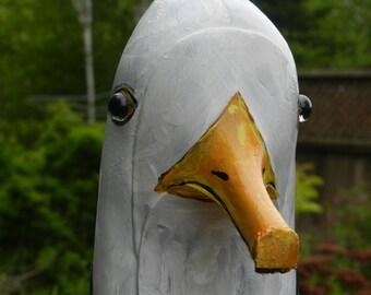 Seagull - Art Shoe Sculpture