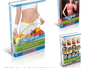 The 21-Day Diet Healthy Diet For Weight Loss PDF