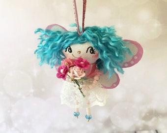 Fairy Girl Ornament - OOAK