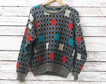 Retro wool sweater 4FbvGPWT