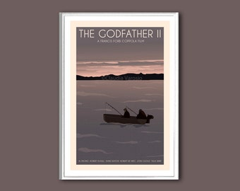 The Godfather II poster 12x18 inches retro print