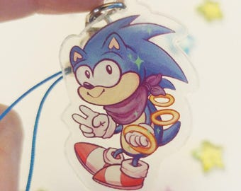 Sonic the Hedgehog Charms