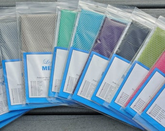Lightweight Mesh Fabric, Pocket, See Through, Bags, Purses, Totes, Wallets