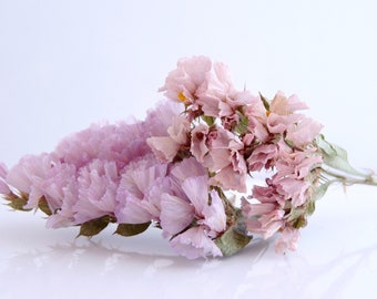 1 packet of real dried sea Lavender flowers mixed with old rose for filling globes, vials and glass beads