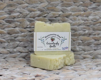 Hemp - Unscented Soap - Exseedingly Gentle
