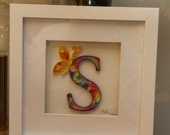 Decorative Letters - Quilled Paper Art