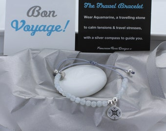 Bon Voyage Travel Bracelet