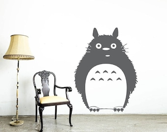 Totoro Wall Decal | Etsy