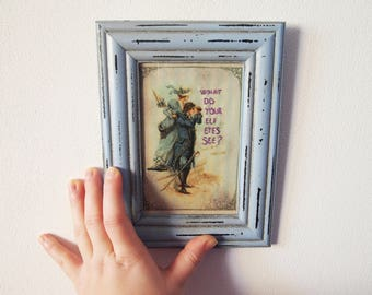 """What Do Your Elf Eyes See? - """"The Lord Of The Rings"""" Vintage Print Parody/Homage Embroidery Quote"""