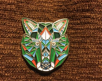 Grateful Dead dire Wolf hat pin