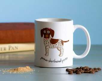 German Shorthaired Pointer Mug (girl)
