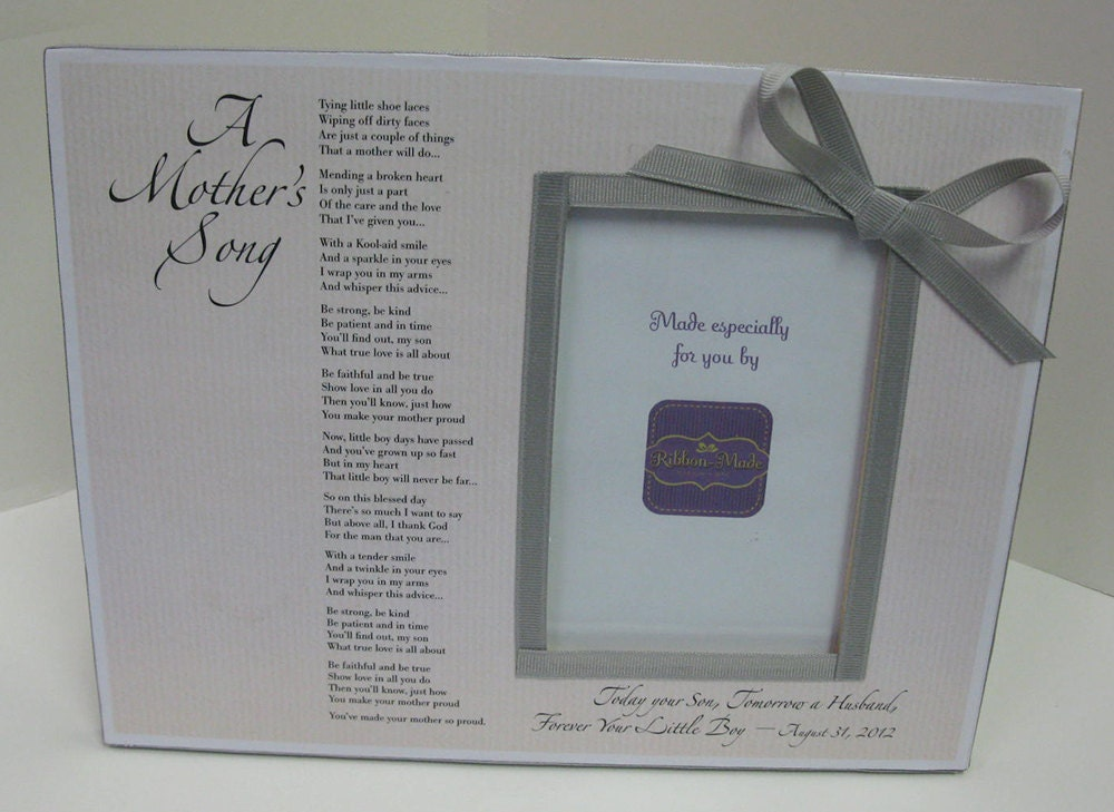 Father Daughter Dance Song/Mother Daughter Song Frames with