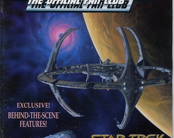 Star Trek the official Fan Club Magazine #89 January February 1993 VG