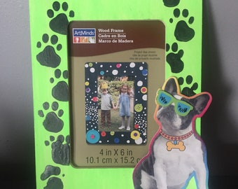 Puppy Paws Photo Frame