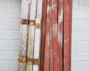 Repurposed wood boards for wood projects