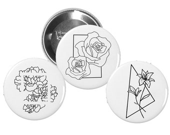 Floral Pin Pack