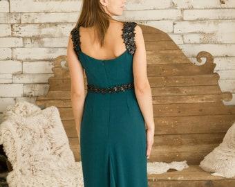 Elegant crep dress