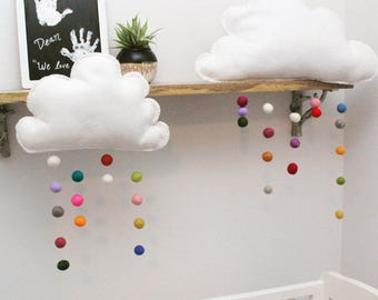 Cloud Drop Hanging Mobile