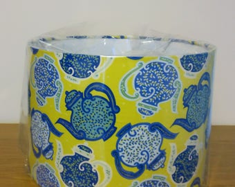 Teapot Lampshade - Handmade and just in time for tea!