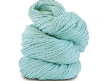 Organic Cotton Yarn Worsted, 150 Yards, Azul