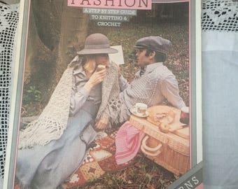Knitting Fashion Book that ran alongside BBC programme in 1976