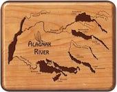 ALAGNAK RIVER Map Fly Box...