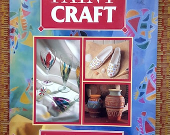 Paint Craft Book/ Painting Refence Book/Painting Glass/Painting Tableware/Painting Fabric