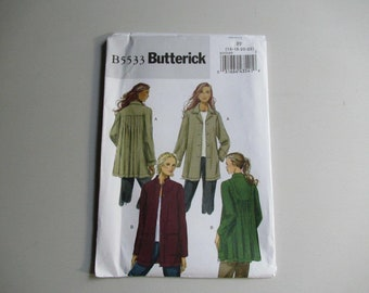 B5533 Misses' Jacket, Loose Fitting, Butterick Sewing Pattern