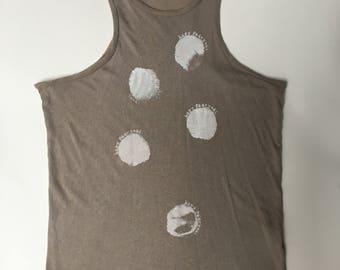 Humanoid moongirl screenprinted tank top