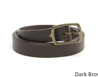 1 inch Bridle Leather Belts