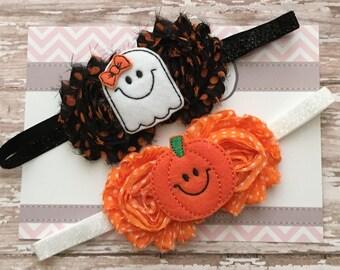 Halloween Headband..Newborn Headband..Hair Bow..Headband..Headband..Infant Headband..Baby Headband..Halloween Headbands..Halloween