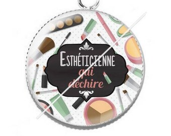 Cabochon resin cameo for beautician 7