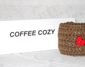 Crochet Coffee Cozy Coffee Cup Cozy
