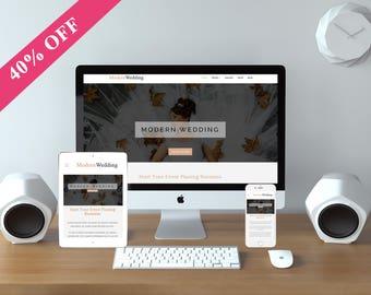 FlexTheme Wedding WordPress Theme - Responsive Wedding & Event Planing Template