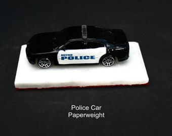 2006 Dodge Charger B&W Police Car decor