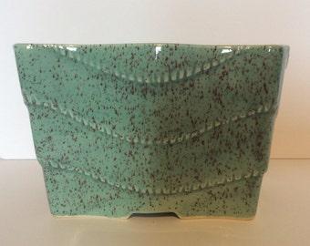 Ungemach Pottery Co. Retro Green Planter