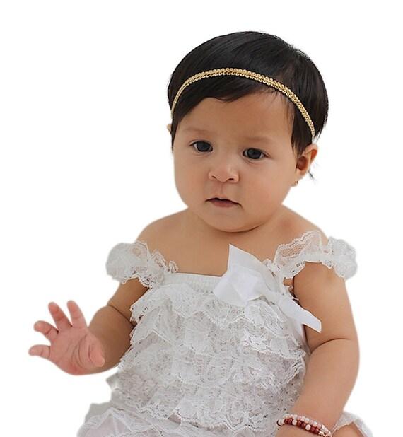 Gold Halo Headband, Gold Baby Headband, Infant Headbands, Baby Headband, Baby Girl Headband, Girl Headband, Halo Headband, Toddler Headband